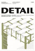 Журнал DETAIL 11/2019 — Natural Building Materials