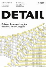 Журнал DETAIL 5/2020 — Balconies, Terraces, Loggias