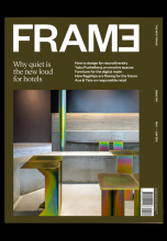 Журнал Frame 140 — Why quiet is the new loud for hotels