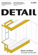 Журнал  DETAIL 12/2020 Concrete Construction